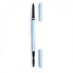 Makeup Obsession - Augenbrauenstift - So Fine Brow Pencil Black Ash