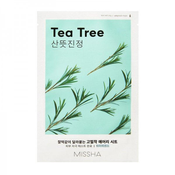 MISSHA - Airy Fit Sheet Mask - Tea Tree