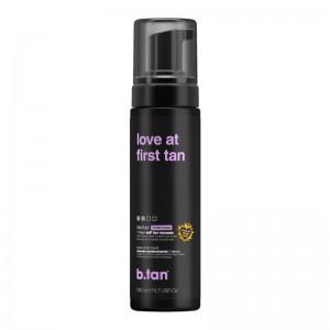 b.tan - Self Tan - love at first tan - 1 hour self tan mousse - darker (violet base)