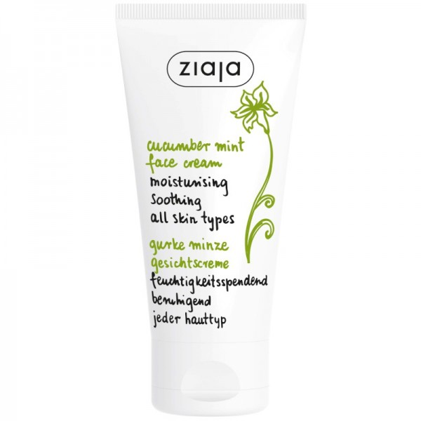 Ziaja - Cucumber Mint Face Cream - Moisturising & Soothing