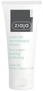 Ziaja Med - Beruhigende Gesichtscreme bei atopischer Haut - Atopic Skin Face Cream Soothing Moisturi