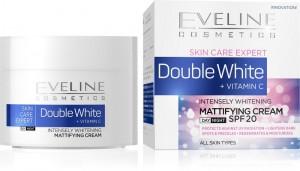 Eveline Cosmetics - Gesichtscreme - Skin Care Expert mattierende Tages- und Nachtcreme SPF20