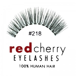 Red Cherry - Falsche Wimpern Nr. 218 Bentley - Echthaar