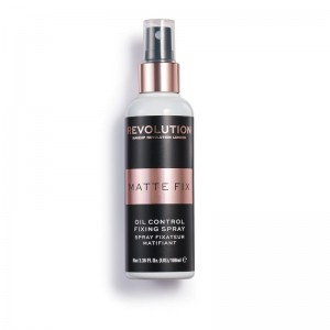 Makeup Revolution - Fixierspray - Pro Fix - Oil Control Fixing Spray - 100ML