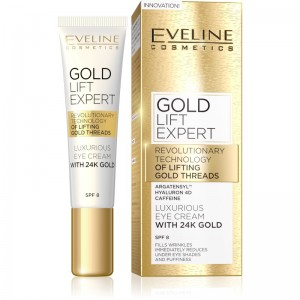 Eveline Cosmetics - Augencreme - Gold Lift Expert Augencreme