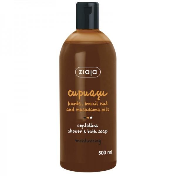 Ziaja - Shower & Bath Soap - Cupuacu with Shea, Brazil Nut and Macadamia Oils