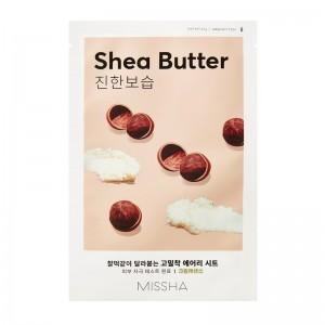 MISSHA - Gesichtsmaske - Airy Fit Sheet Mask - Shea Butter