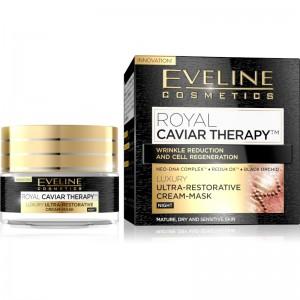 Eveline Cosmetics - Royal Caviar Therapy Night Cream Mask