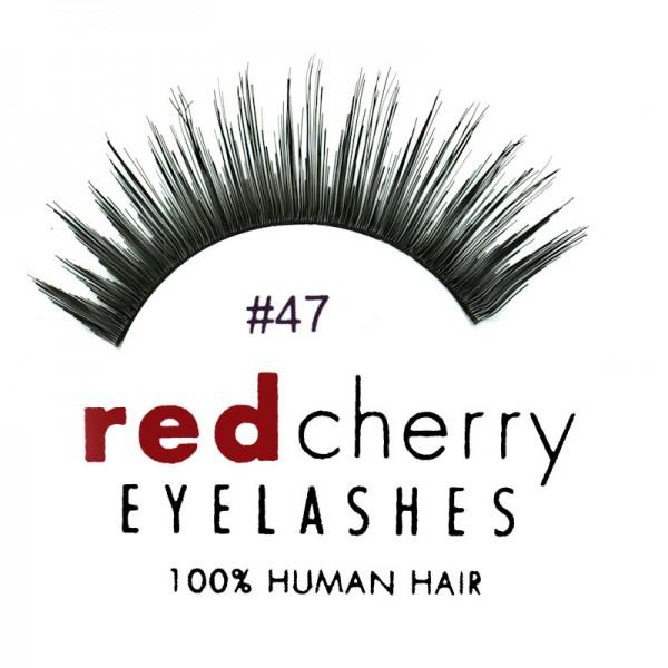 Red Cherry - Falsche Wimpern Nr. 47 Harper - Echthaar