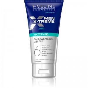 Eveline Cosmetics - Reinigungsgel - Men X-Treme mattierendes Gesichtsreinigungsgel