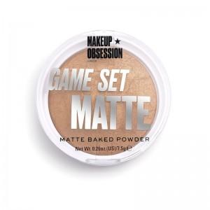 Makeup Obsession - Puder - Game Set Matte - Matte Powder Kalahari