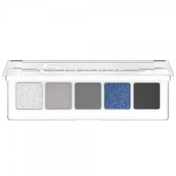 Catrice - 5 In A Box Mini Eyeshadow Palette - 050 Blue Smokey Look