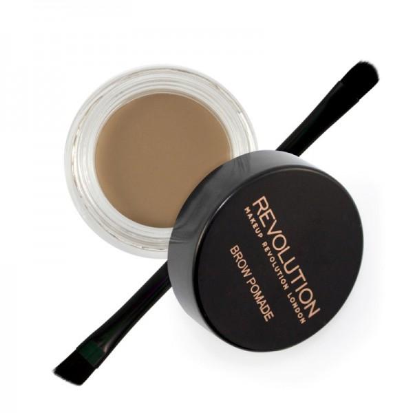 Makeup Revolution - Augenbrauengel - Brow Pomade - Blonde