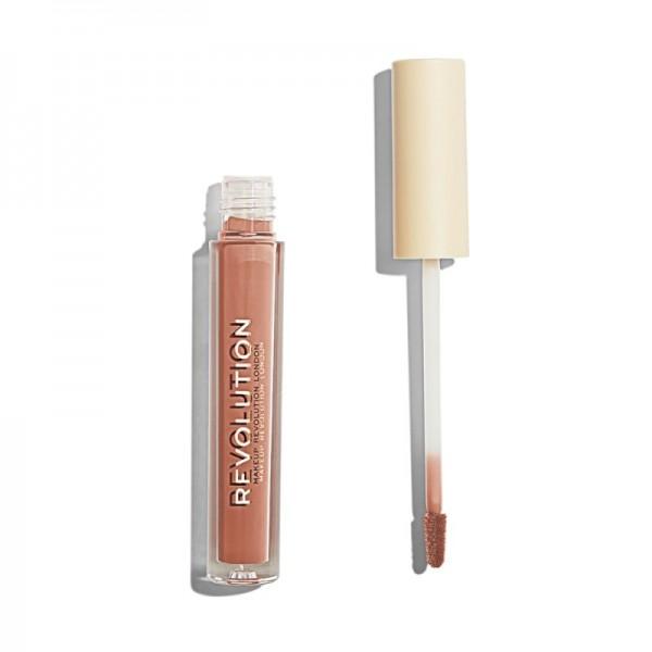 Makeup Revolution - Flüssiger Lippenstift - Nudes Collection Matte Buff