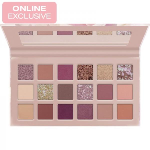 Catrice - Lidschattenpalette - online exclusives - Nude Peony Pressed Pigment Palette