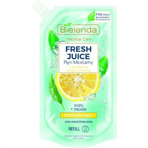 Bielenda - Mizellenwasser - Fresh Juice Liquid Micellar Yuzu - 500ml