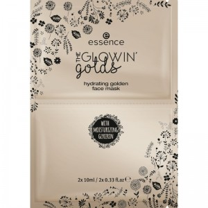 essence - the glowin' golds hydrating golden face mask - 01 Golden State Of Mind