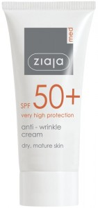 Ziaja Med - Anti-Falten Creme - Anti-Wrinkle Cream Cream SPF 50+