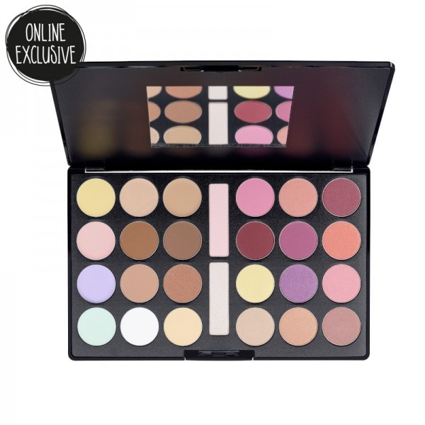 essence - Makeup Palette - online exclusives - she believed she could so she did big face palette 01