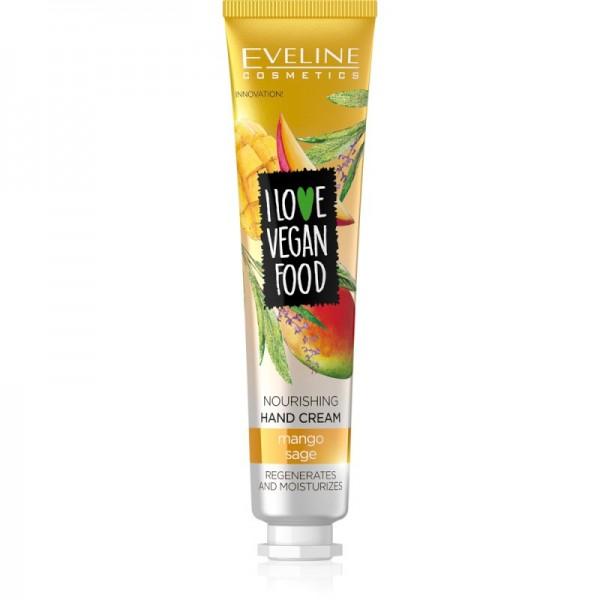 Eveline Cosmetics - Handcreme - I Love Vegan Food Nährende Handcreme Mango & Sage