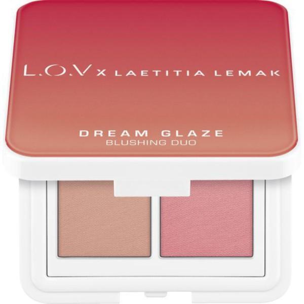 L.O.V - Rougepalette - x Laetitia Lemak - Dream Glaze Blushing Duo