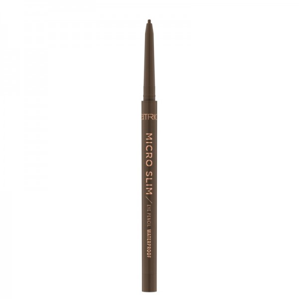 Catrice - Eyeliner - Micro Slim Eye Pencil Waterproof 030 - Brown Precision