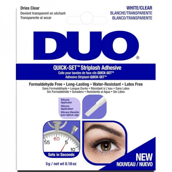 DUO - Wimpernkleber - Duo Striplash Adhesive - Quick-Set - Clear