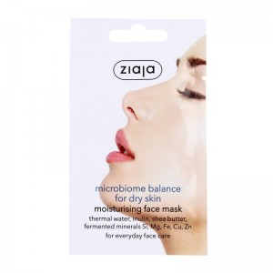 Ziaja - microbiome balance face mask - for dry skin