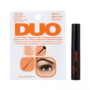 Duo - Wimpernkleber für Wimpernbänder - Brush On Striplash Adhesive - 5g - Dunkel