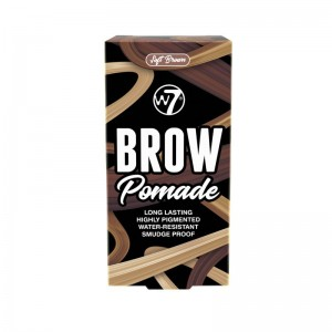 W7 - eyebrow gel - Brow Pomade  - Soft Brown