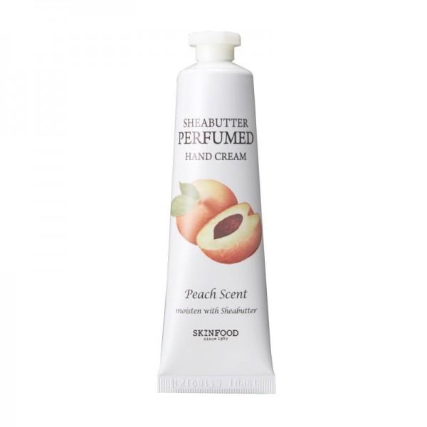 SKINFOOD - Shea Butter Perfumed Hand Cream - Peach Scent