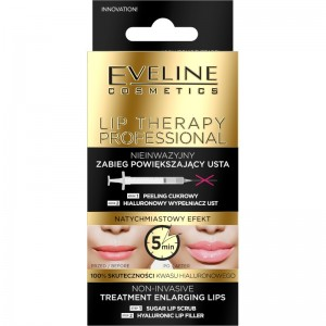 Eveline Cosmetics - Lip Therapy Duopack Non-Invasive Treatment Enlarging Lips