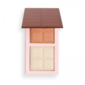 I Heart Revolution - Chocolate Contour Palette - Fair