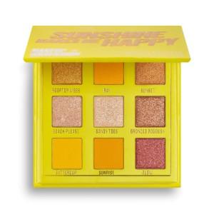 Makeup Obsession - Lidschattenpalette - Sunshine Makes Me Happy Shadow Palette - Mini
