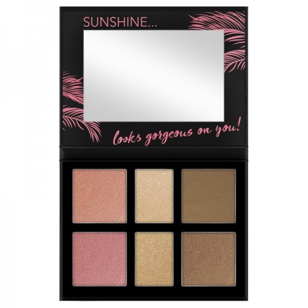 Catrice - Makeuppalette - Aloha Sunsets Everyday Face And Cheek Palette