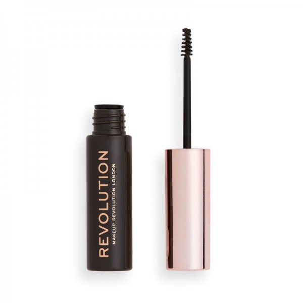 Revolution - Augenbrauengel - Brow Gel Dark Brown