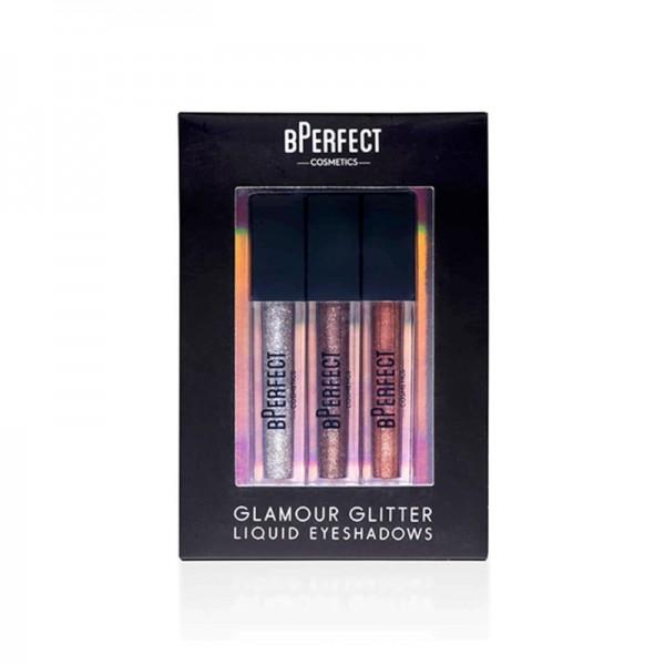 BPerfect - Flüssiger Lidschatten - Glamour Glitter Liquid Eyeshadows Trio