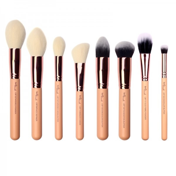lenibrush - Flawless Face Set Maxi - The Nudes Edition