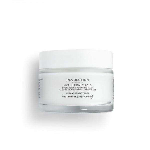 Revolution - Gesichtsmaske - Skincare Hyaluronic Acid Overnight Hydrating Face Mask