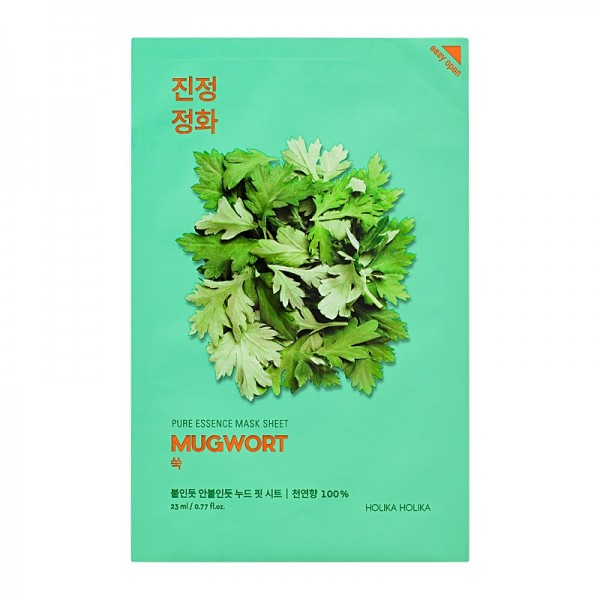 Holika Holika - Pure Essence Mask Sheet Mugwort - Beifuß