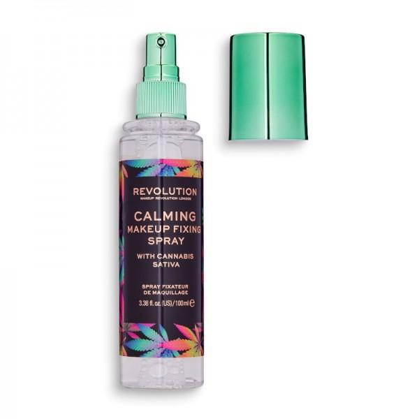 Revolution - Fixierspray - Fixing Spray - Revolution Calming Fixing Spray with CBD
