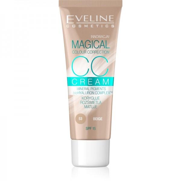 Eveline Cosmetics - CC Cream Magical Colour Correction - 53 Beige