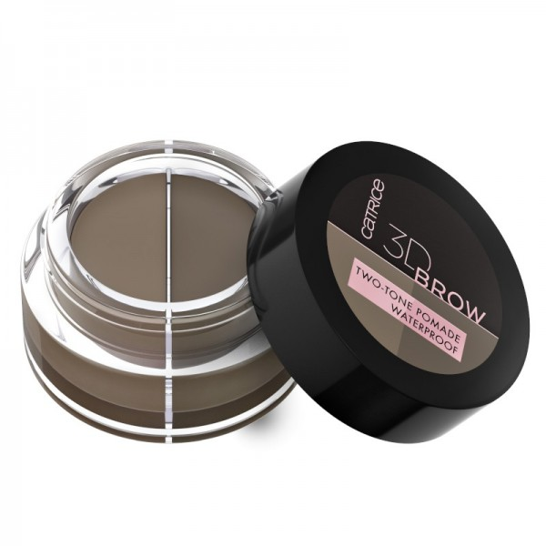 Catrice - Augenbrauenpomade - 3D Brow Two-Tone Pomade Waterproof 010 - Light To Medium
