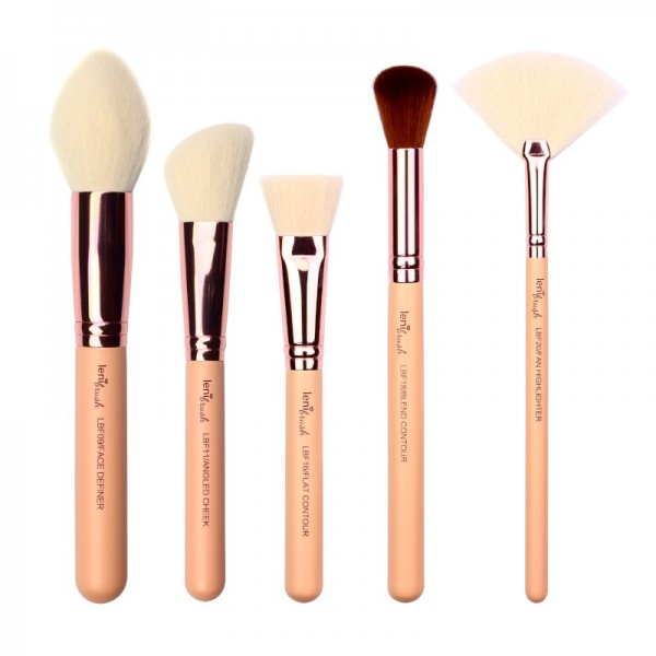lenibrush - Brush Set - Face Definition Set - The Nudes Edition