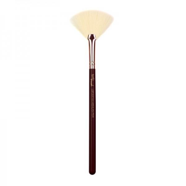 lenibrush - Kosmetikpinsel - Fan Highlighter Brush - LBF20 - Midnight Plum Edition