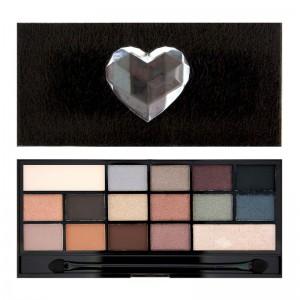I Heart Makeup - Lidschatten Palette - Wonder Palette - Naked Underneath - Faux Fur covered palette
