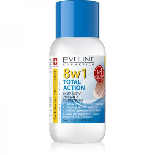 Eveline Cosmetics - Nail Therapy Nail Polish Remover 8In1