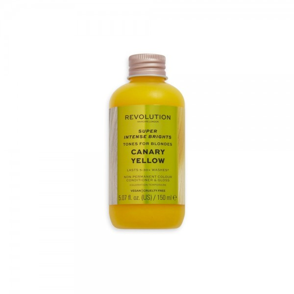 Revolution - Haartönung - Haircare Tones for Blondes Canary Yellow