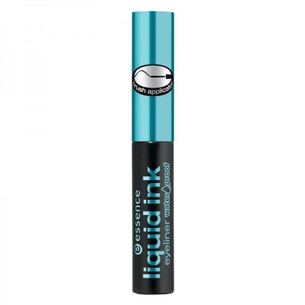 essence - Flüssig Eyeliner - Wasserfest - liquid ink eyeliner waterproof