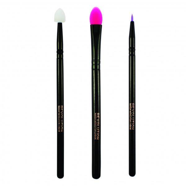 Makeup Revolution - Pinselset - Silicone Eye Set